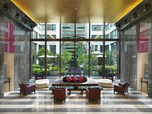 Hotel Madarin Paris France Henri 4 Flooring and Cladding Interior Grey Arudy