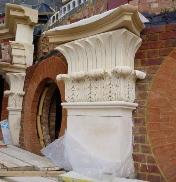 Private Residence Red Lodge UK Caen Limestone 2