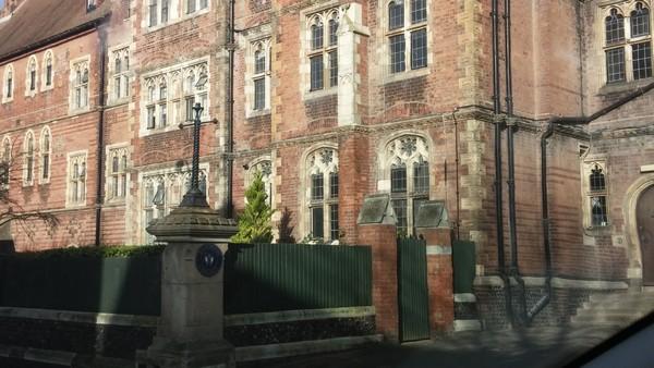 Brighton College UK Caen Limestone