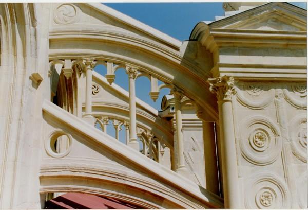 St Sauveur Church Caen Limestone