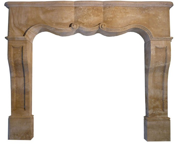 Fireplace Beaumaniere Dark