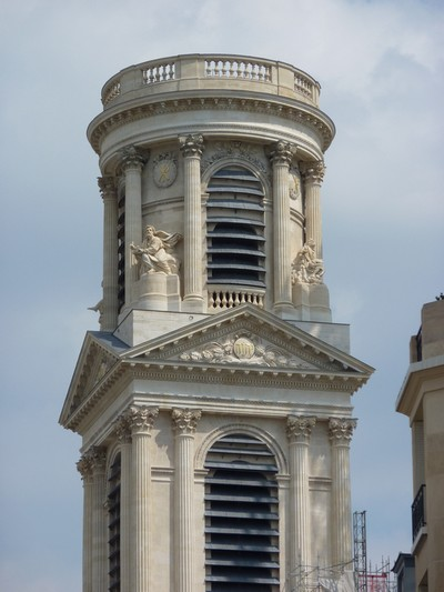 Fontenay Clair Evangeslits Saint Sulpice Church Paris France 2