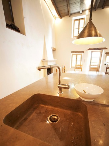 Private Residence Kitchen Villebois Limestone France 57 kB