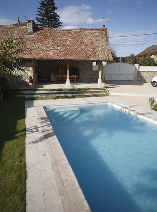 Private Residence Swimming Pool Villebois 4