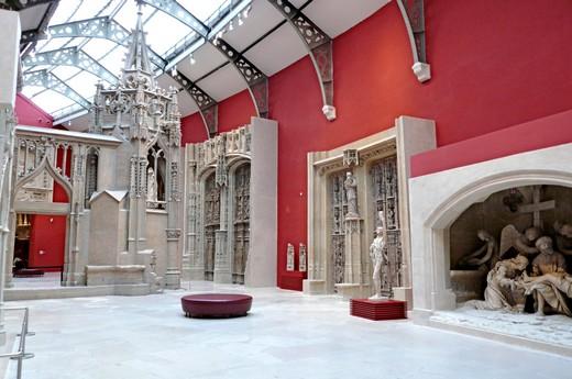 Trocadero Museum Paris Comblanchien 8