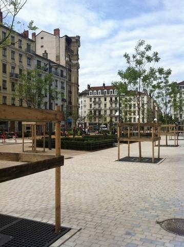 Place Brotteaux Lyon France Chandore 2