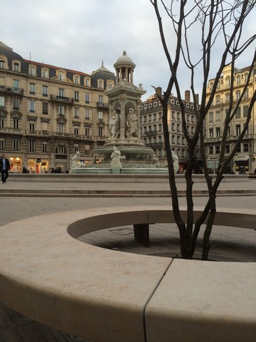 Place des Jacobins Lyon France Chandore