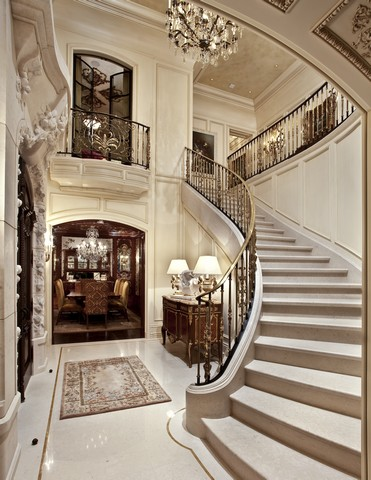 Private Residence California Stair Floor Marmont 1